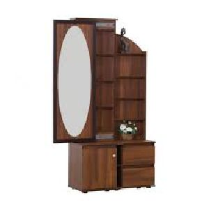 Wooden Dressing Table with Drawers