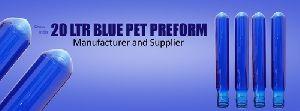 20 Ltr Blue Pet Preform