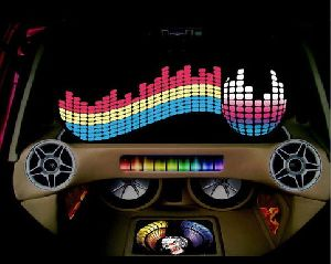 Car Music Sound With Led Light