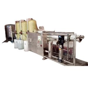 3000 LPH Stainless Steel Commercial RO Plant
