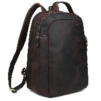 Boy Leather School Bag