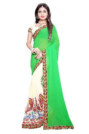 Georgette Traditional Wear Sarees