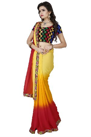 a280ebaabd Party Wear Designer Sarees in Surat - Manufacturers and Suppliers India
