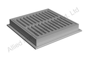 Catch basin frame and Grates