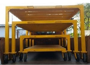 MS and SS Storage Trolley