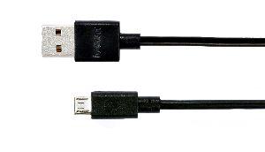 Data Cable 2a Black 2m Micro Usb
