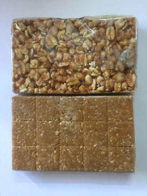 Peanut and Til Chikki