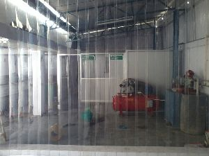 Transperant Pvc Strip Curtains