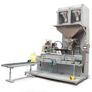 Granular Sack Filling & Sewing Machine