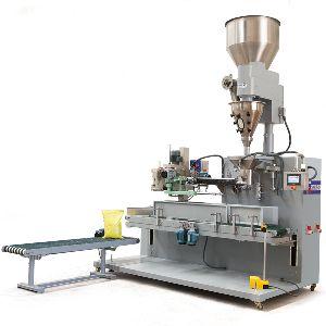 Powder Sack Filling & Sewing Machine