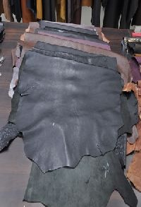 buff calf leather