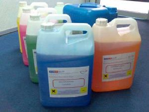 s.s.d. Chemicals solution for cleaning black money.