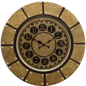 Decorative Brass Wall Clock
