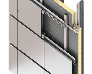 Aluminium panel manufacturers suppliers exporters in india for Exterior aluminum wall cladding