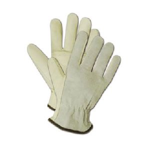 Unlined Grain / Split Leather Drivers Gloves
