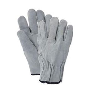 Unlined Split Leather Drivers Gloves