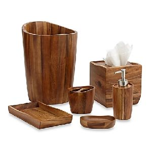 Wooden Bathroom Accessories