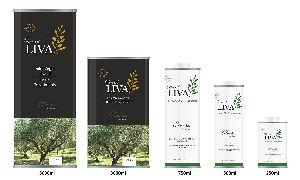 LIVA CLASSIC -  Olive Oil - Health Philosophy - KALAMATA PDO - Organic farming