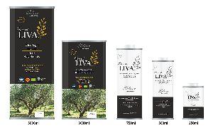 LIVA SILVER - Olive Oil - Health Philosophy - KALAMATA PDO - Organic farming