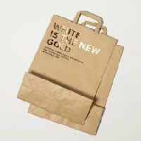 Handle Printed Paper Bag