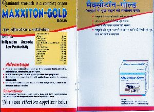 Maxxiton Gold Bolus Feed Supplements