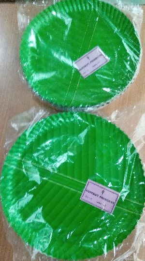 Kp 140 To 180 Gsm Disposable Paper Plates(size-12 Inch)
