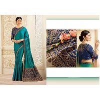 Ladies Handloom Embroidered Sarees