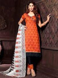 Block Print Cotton Salwar Kameez