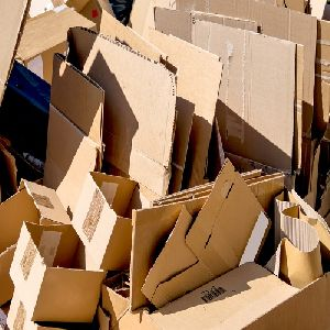 Old Corrugated Cardboard Boxes