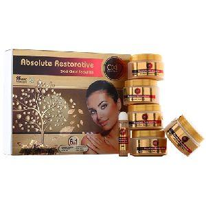 24ct Gold Absolute Restorative Facial Kit