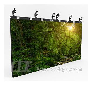 led screen wall