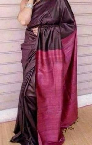 Tassar Ghiccha Pallu Sarees