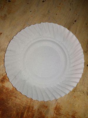 White Paper Dish