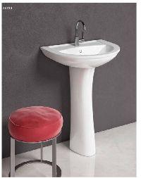 Blush Basin Pedestal