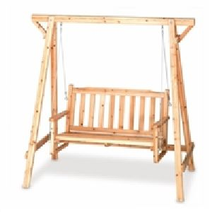 Pine Wood Garden Swings