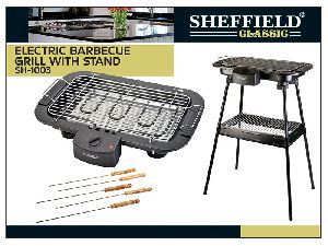 Electric Barbecue Grill With Stand