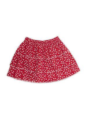 Organic Cotton Layered Skirt