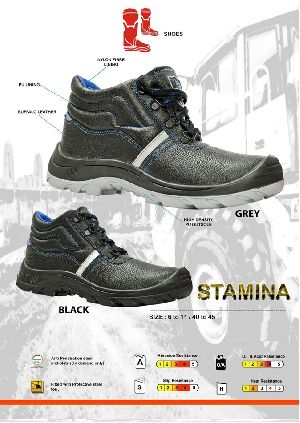 Stamina Safety Industrial Shoes