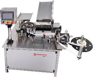 Automatic Vial Rotary Sticker Labeling Machine