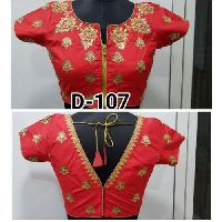 Red Fashion Blouse