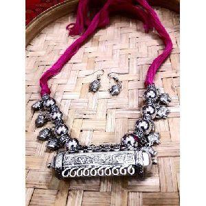 Antique Metal Necklace Set