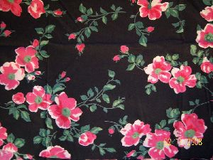 Cambric Cotton Printed Fabric