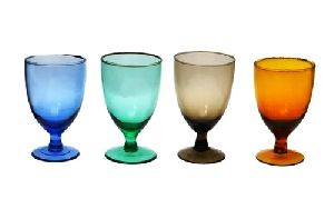 Colored Wine Drinking Glasses