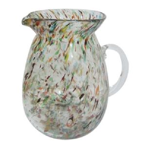 Multi Color Glass Jugs