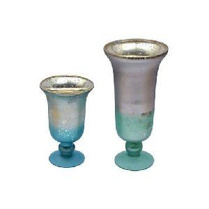 Wine Glass Shaped Flower Vases