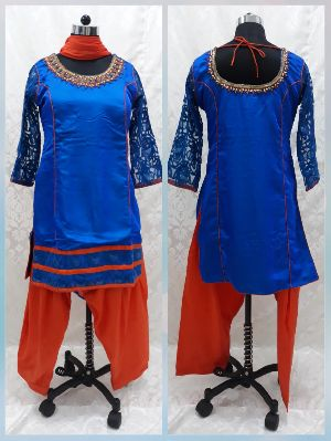 Punjabi Style Festival Wear Suits