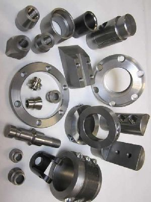 Cnc Turned Machine Components