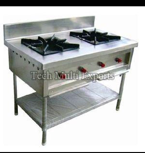 Ci Casting Double Gas Stoves