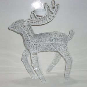 Wall Decorative Iron Deer