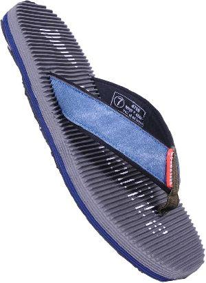Mens Grey Ultra Thin Flip Flop Slippers